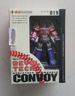 TransFormers Revoltech Series 019, G1 OPTIMUS PRIME action figure by KAIYODO New for sale  Shipping to United States