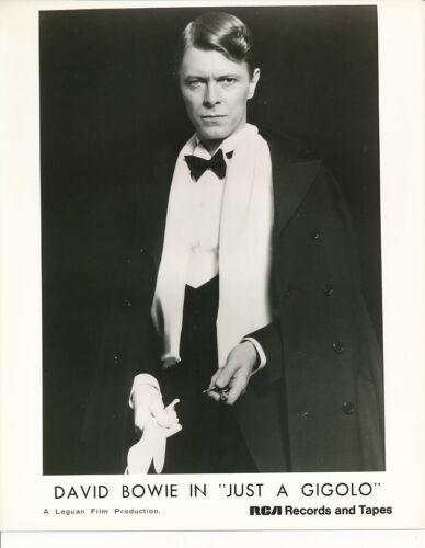 DAVID BOWIE Rare Original Vintage 1978 JUST A GIGOLO RCA Records Portrait Photo