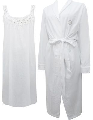 New Dunnes Store Ladies 2 Piece Cotton Nightdress