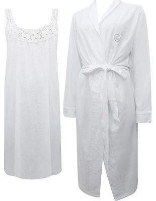 New Dunnes Store Ladies 2 Piece Cotton Nightdress