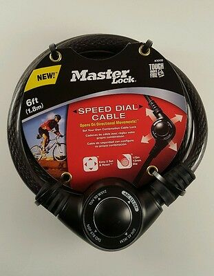 Master Lock Speed Dial Cable 8300D