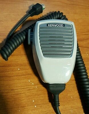 Kenwood KMC-27 Microphone with 8pin cable plug and Mic Hanger & Screws.