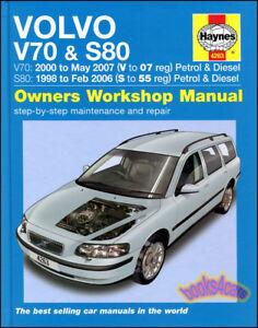 Volvo V70 Manual Ebay. Volvo Shop Manual Haynes Service Repair Book S 80 V 70 Chilton Workshop Owners Fits V70. Volvo. Volvo Xc70 Repair Diagrams At Scoala.co