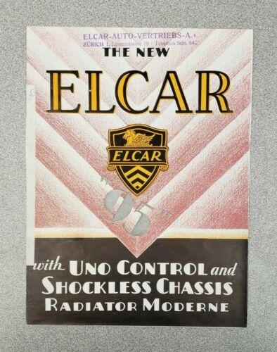 """1929 Elcar """"95"""" Sales Folder"""