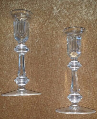 Waterford Crystal Curraghmore Candle Holder Set of Two