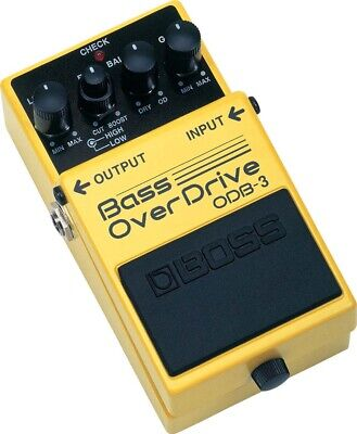 Boss ODB-3 Bass Overdrive Effects Pedal Boss Odb 3 Bass Overdrive