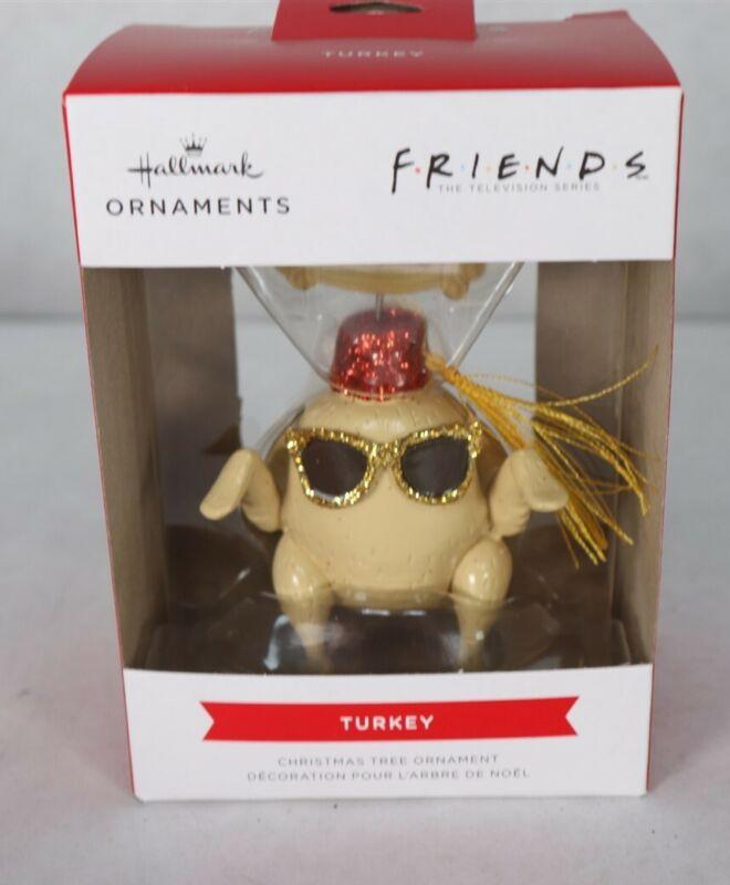 2021 Hallmark Friends Turkey Ornament New