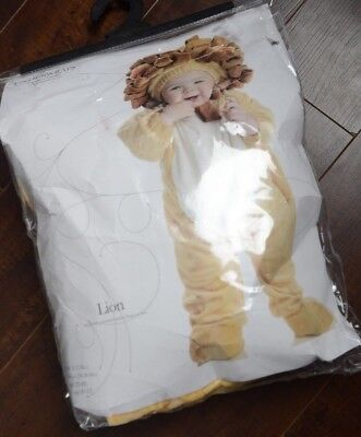 New Costumes Baby's KID Lil' Lion Costume Brown Small 6-12 Months Halloween  - Baby Halloween Costumes Lil Lion