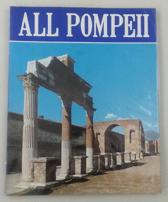 POMPEII Italy Vintage Souvenir Photo Guide Book - ALL POMPEII - includes map