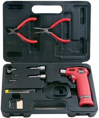 Master Appliance Mt76k Trigger Torch Kit With Soldering Hot Air Knife Tips