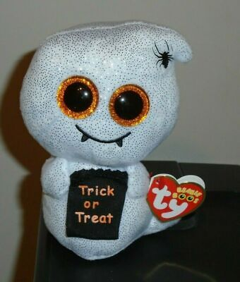 Ty Beanie Boos HAUNTS the Halloween Ghost 6