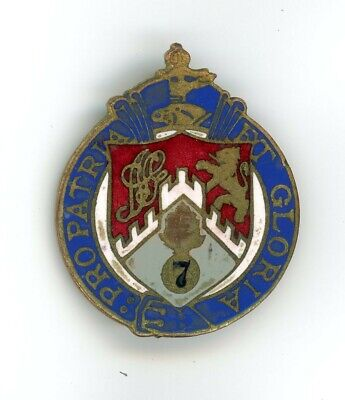 7th Regiment (107th Infantry) NYNG New York Distinctive Insignia DUI