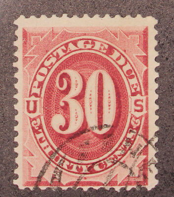 Scott J27 - 30 Cents Postage Due - Used - Nice Stamp - SCV - $225.00
