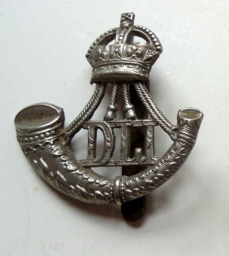 British World War II Durham Light Infantry Cap Badge Very Good Condition