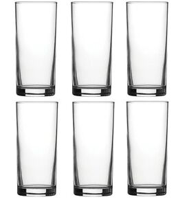 Traditional Tumbler Hiball Glasses - Pack of 6 Glasses - 285ml / 10oz