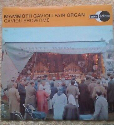 MAMMOTH GAVIOLI FAIR ORGAN, Gavioli Showtime fairground organ LP.