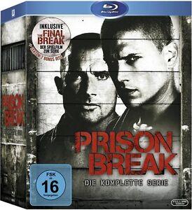 Blu-ray * Prison Break 1+2+3+4+Final Break * NEU OVP *Komplettbox (Breake,Brake)