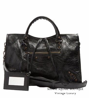 BALENCIAGA CLASSIC CITY BLACK BAG BRAND NEW  ** HARRODS ** WITH RECEIPT  **