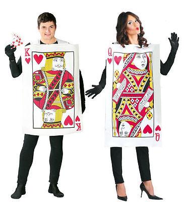 Damen Queen of Herzen Kostüm Erwachsene Alice Spielkarten - Queen Karte Kostüm