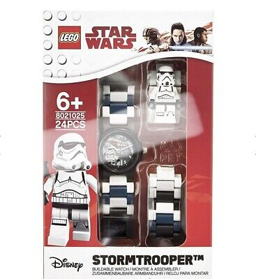 LEGO 8021025 STAR WARS STORMTROOOPER BUILDABLE WATCH DISNEY 24 PCS NEW FREE S/H