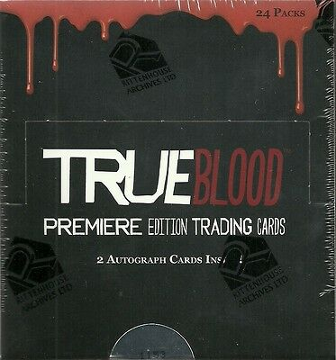 Rittenhouse True Blood Premiere Edition Hobby Trading Card Box - 2 Autos Per Box 2 Trading Cards Hobby Box
