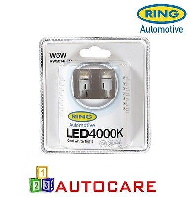 Ring W5W LED 4000K Cool White Light RW5014LED
