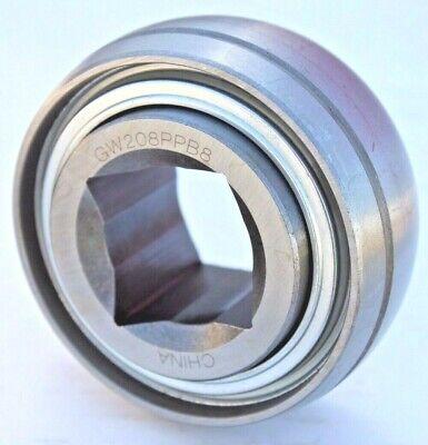 Premium Gw208ppb8 Ag Disc Harrow Bearing 1-18 Square Bore Ds208ttr8 G10333