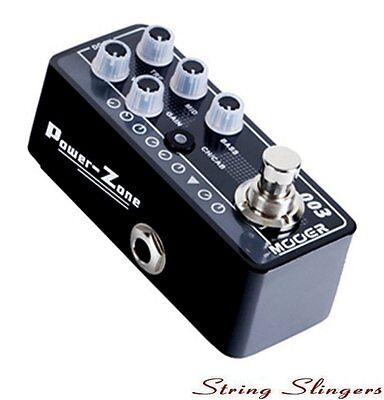 Mooer Micro 003 Preamp Power-Zone Digital Preamp Pedal, MMPA3