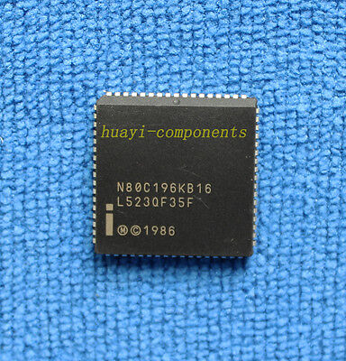 1pcs N80c196kb-16 N80c196kb16 Intel Plcc-68 Ic Smd