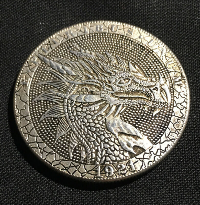 PHOENIX DRAGON Novelty Heads Tails Challenge Coin #317
