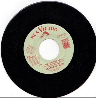 FREDDIE JACKSON CHRISTMAS SONG/O HOLY NIGHT 45RPM VINYL ()