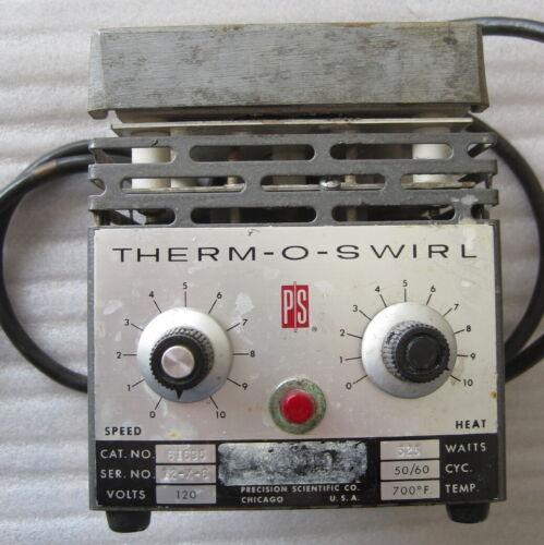 SALE!  Vintage Therm-O-Swirl heater - Precision Scientific