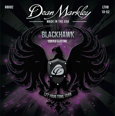 Dean Markley Blackhawk 10-52 LTHB Coated Nickel Electric Guitar Strings 8002