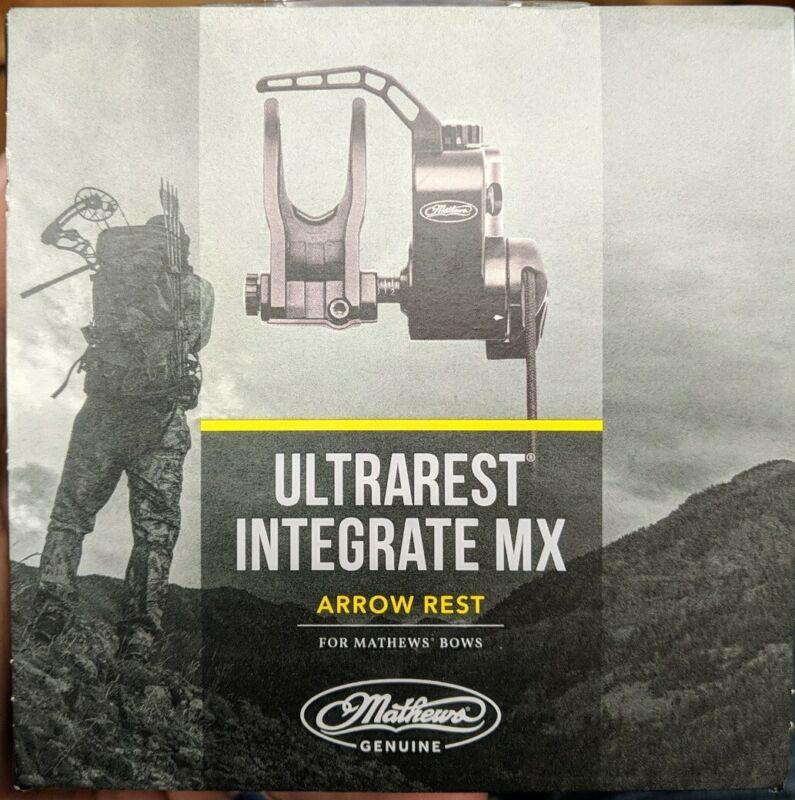 MATHEWS ULTRAREST INTEGRATE MX Arrow Rest - Black - RH - New!!!