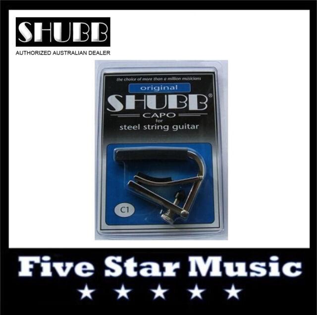 NEW Shubb C1 Original Capo for Steel String guitar