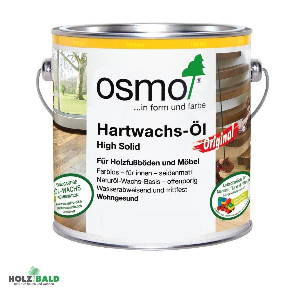 "Osmo Hartwachs Öl ""Original"" farblos Hartwachsöl naturöl ab 25,90€/ Liter"