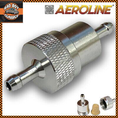 UNIVERSAL Alloy Fuel Petrol Diesel Inline Filter 5/16