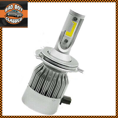 H4 LED CONVERSION BULB DIAMOND WHITE FOR MOTORCYCLE TRIUMPH BSA NORTON