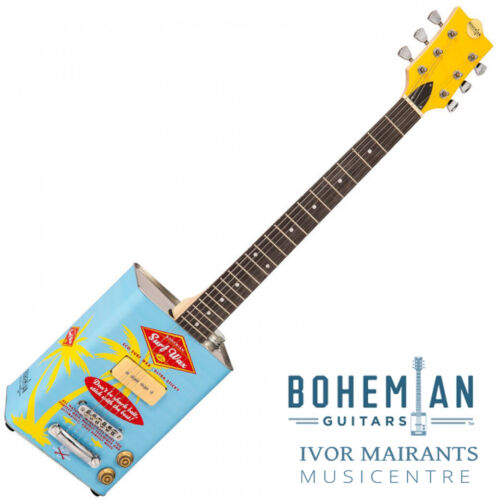 Bohemian Oil Can Electric Guitar Single P90 Pickup Surf Wax (Limited Edition)