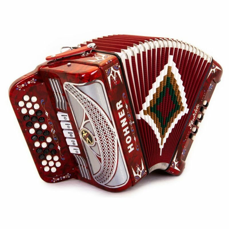 Anacleto Rey del Norte 5 Switches FBE Red Pearl Compact