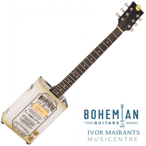 Bohemian Oil Can Electric Guitar Single P90 Pickup Moonshine (Limited Edition)