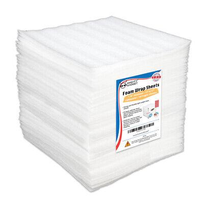 50 Pack Mighty Gadget R 12 X 12 X 18 Foam Wrap Cushioning Sheets