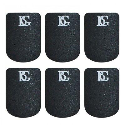 BG Clarinet & Saxophone Mouthpiece Cushions - Black Small, 0.8mm A10S
