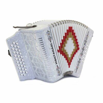Montanari 3112 P Accordion FBE White