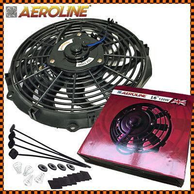 16 120w Aeroline High Power Electric Car Engine Radiator Cooling Fan