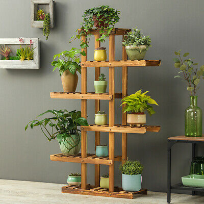 Pro Plant Stand 6 Tier Flower Display Best for Yard Garden Outdoor Indoor