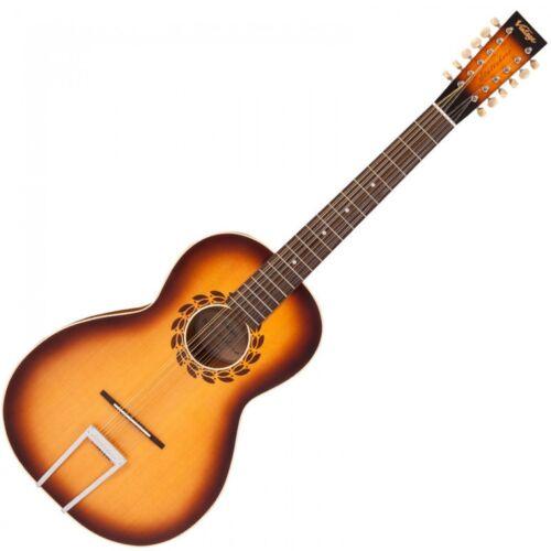 VINTAGE PAUL BRETT 'STATESBORO' 12 STRING ACOUSTIC Guitar - V5000SB-12
