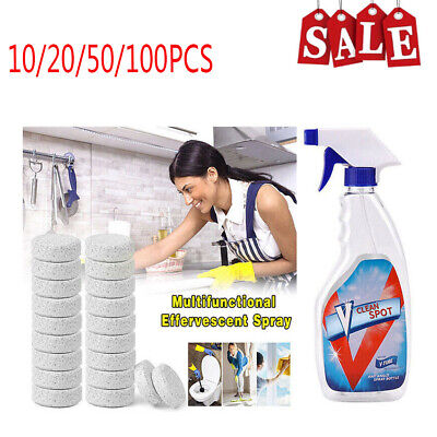 Best V Clean Spot Multifunctional Effervescent Spray Clean Cleaning Kit+
