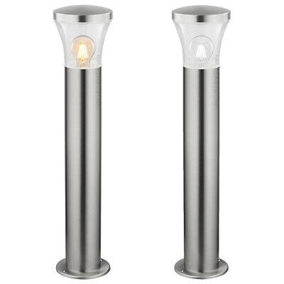 Modern LED Bollard Garden Lamp Post Stainless Steel Outdoor Pathway Light ZLC310 ()