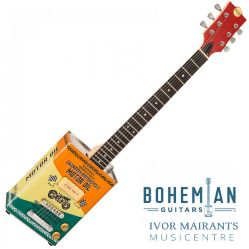 Bohemian Oil Can Electric Guitar Single P90 Pickup Motor Oil (Limited Edition)